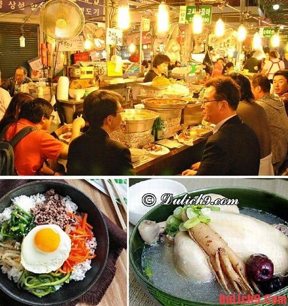 Hướng dẫn du lịch Seoul tự túc sao cho giá rẻ nhất, lịch trình 5 ngày. Kinh nghiệm du lịch Seoul tự túc, giá rẻ