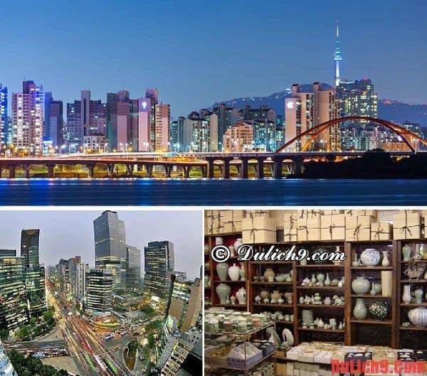 Địa điểm tham quan ở Seoul - lịch trình 5 ngày