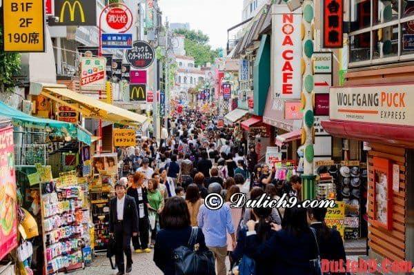 Hướng dẫn du lịch Tokyo thú vị và tiết kiệm tiền