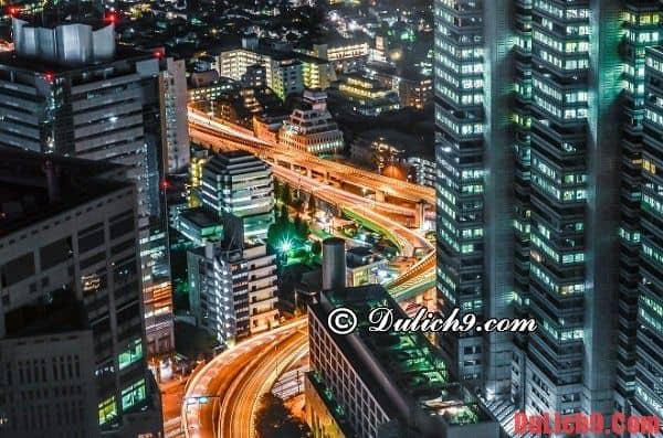 Kinh nghiệm du lịch Tokyo thú vị từ chuyến đi thực tế