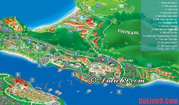 Hướng dẫn cách di chuyển tới Vinpearl Land Nha Trang