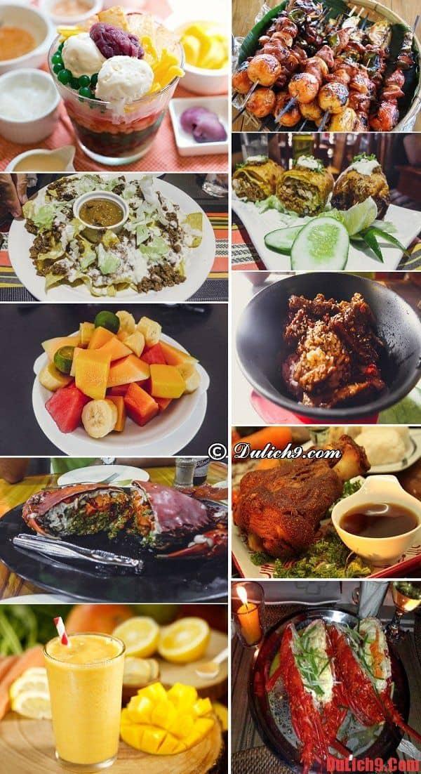 Món ngon, đặc sản nên thử khi du lịch Boracay - Kinh nghiệm du lịch đảo Boracay
