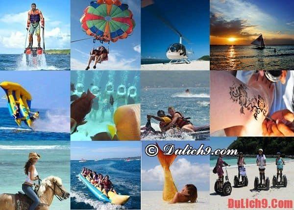 Kinh nghiệm du lịch đảo Boracay giá rẻ - Những hoạt động bãi biển và văn hóa hấp dẫn, thú vị nên thử khi du lịch Boracay, Philippines