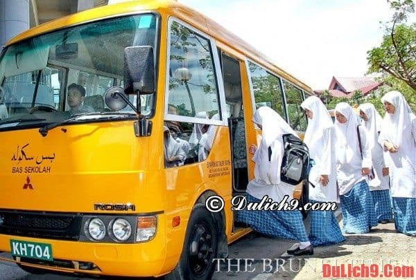 Phương tiện di chuyển tại Brunei