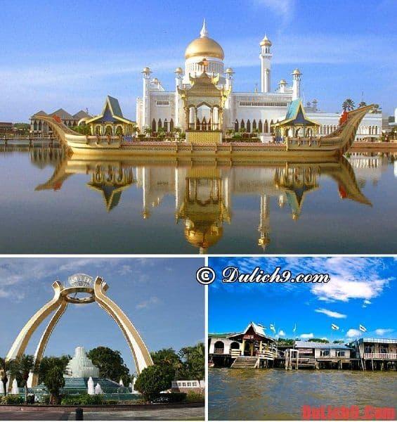 Địa điểm tham quan nổi tiếng ở Brunei