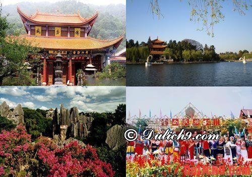Kinh nghiệm du lịch Côn Minh thuận tiện