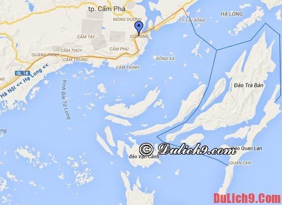 Cách di chuyển tới đảo Quan Lạn - Kinh nghiệm du lịch đảo quan Lạn tự túc, giá rẻ