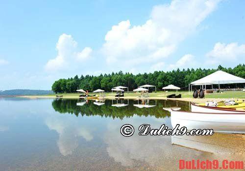 Chơi hồ Đại Lãi (Nguyễn Khôi)