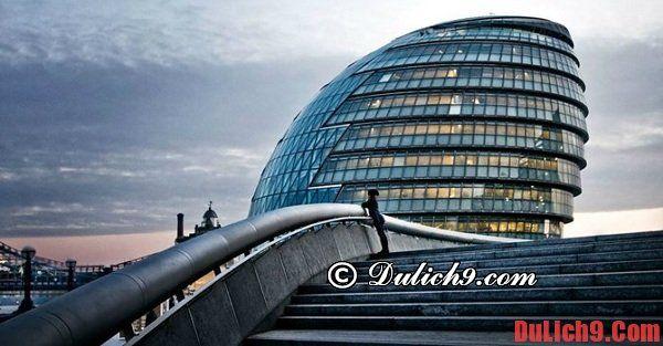 Những điểm du lịch miễn phí ở London