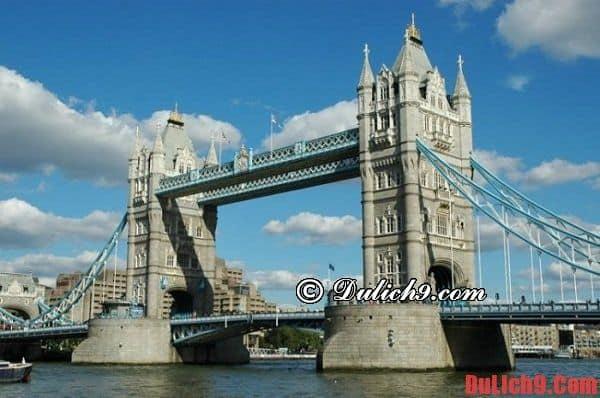 Cầu tháp London: Những điểm du lịch miễn phí ở London
