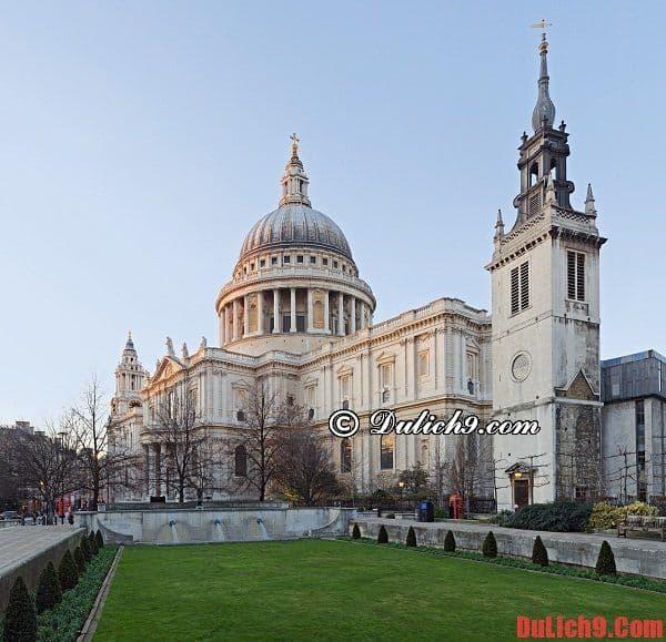 Nhà thờ St.Paul: Những điểm du lịch miễn phí ở London