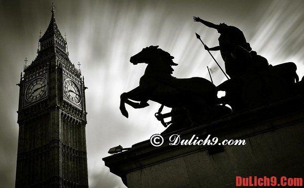 Kinh nghiệm du lịch London, Vương quốc Anh đầy đủ nhất