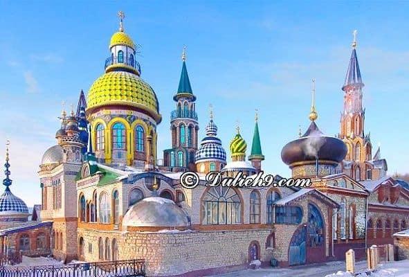 Tham quan ở đâu khi du lịch Nga/ Địa điểm nổi tiếng ở nước Nga - Kinh nghiệm du lịch Nga