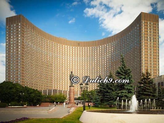 Kinh nghiệm thuê khách sạn ở Nga. Du lịch Nga nên ở khách sạn nào? Khách sạn đẹp, tiện nghi giá rẻ ở Nga