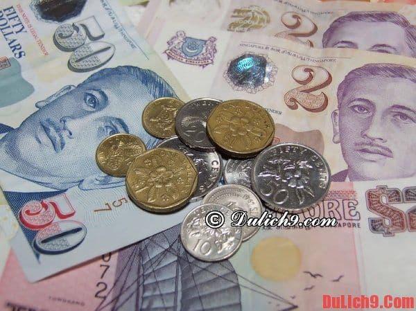 Làm thế nào để nhập cảnh Singapore dễ dàng, thuận lợi và không phiền hà? - Chuẩn bị ngoại tệ và bản sao các giấy tờ quan trọng