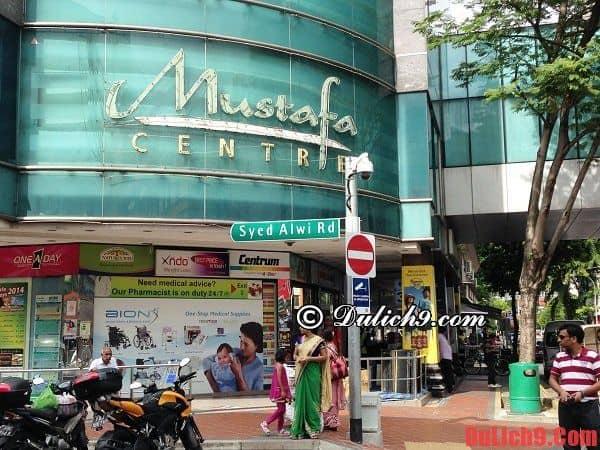 Tư vấn kinh nghiệm mua sắm ở Singapore giá rẻ và chính hãng
