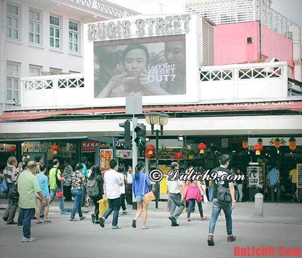 Khu mua sắm nổi tiếng ở Singapore