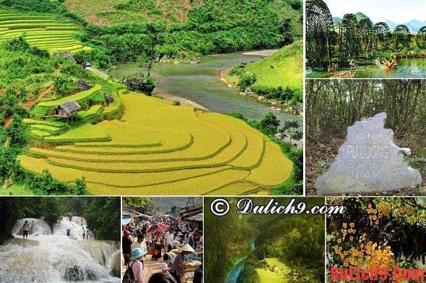 Cẩm nang, kinh nghiệm hướng dẫn tham quan, du lịch những điểm đến không thể bỏ qua ở Pù  Luông