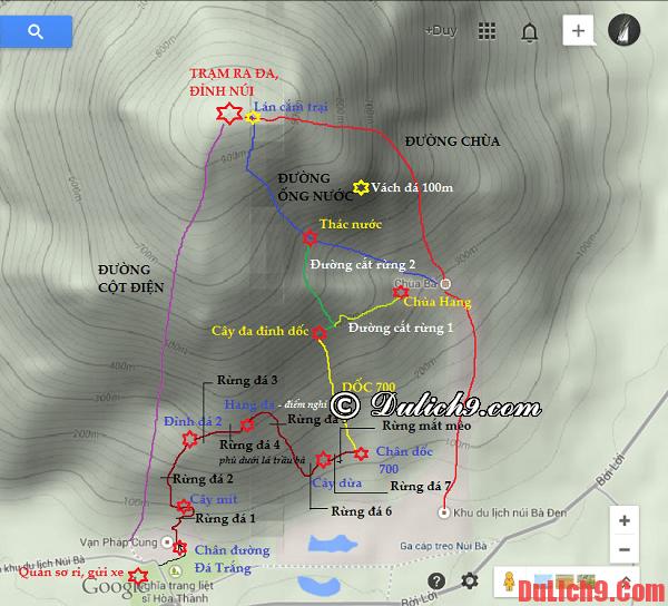 Kinh nghiệm phượt núi Bà Đen bằng đường Đá Trắng