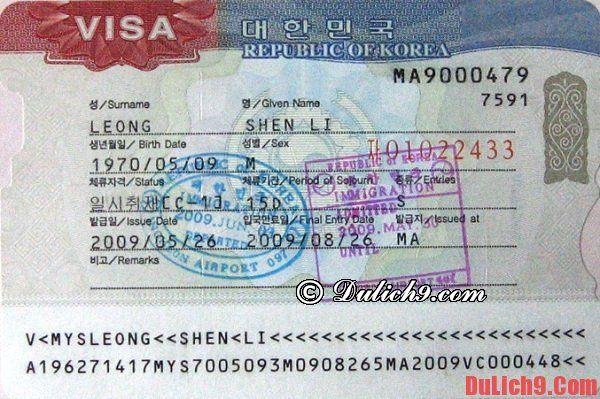 Những kinh nghiệm quan trọng nên biết trước khi du lịch Hàn Quốc - 4 điều cần lưu ý quan trọng khi du lịch Hàn Quốc