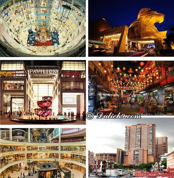 Những địa chỉ mua sắm giá rẻ, chất lượng và an toàn nên đến khi du lịch Malaysia tự túc, tiết kiệm