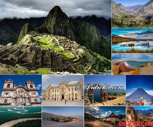 Kinh nghiệm, cẩm nang du lịch Peru giá rẻ, tự túc khám phá