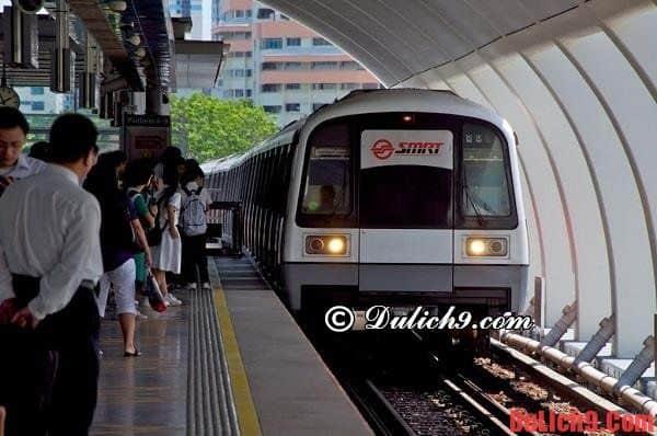 Kinh nghiệm thuê tàu điện ngầmgiá rẻ ở Singapore