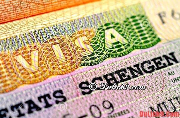 Xin visa du lịch Châu Âu tự do cần những thủ tục, giấy tờ gì?