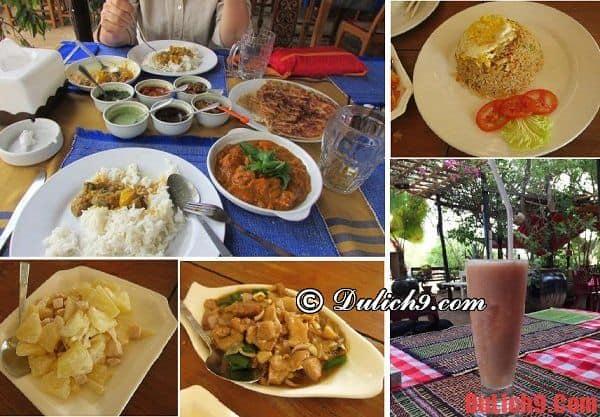Ăn chay ở nhà hàng nào khi du lịch, hành hương Bagan, Myanmar