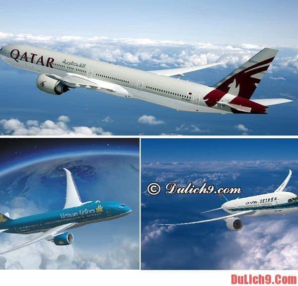 Đặt vé máy bay đi Paris của hãng hàng không nào?