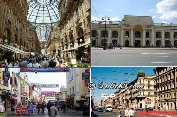 Saint Peterspurg - thành phố đông đúc những cửa hàng nhỏ