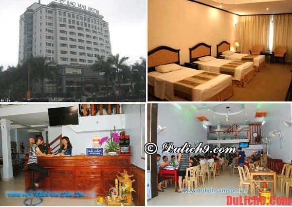 Khách sạn Sao Mai, Sầm Sơn giá tốt và đẹp, tiện nghi đầy đủ