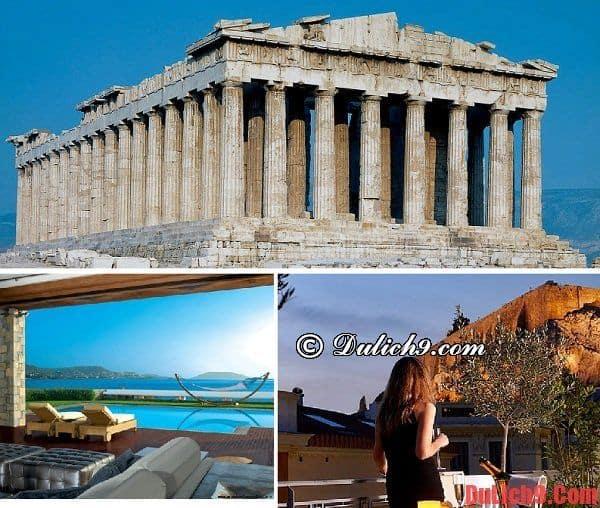 Du lịch và khám phá những địa danh nổi tiếng ở Athens