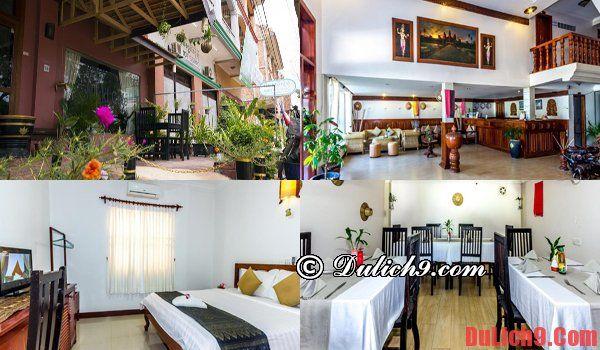 Nhà nghỉ, khách sạn giá rẻ Siem Reap