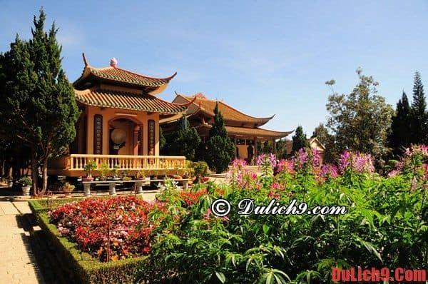 Điểm tham quan, du lịch và chiêm bái không thể bỏ qua ở Đà Lạt
