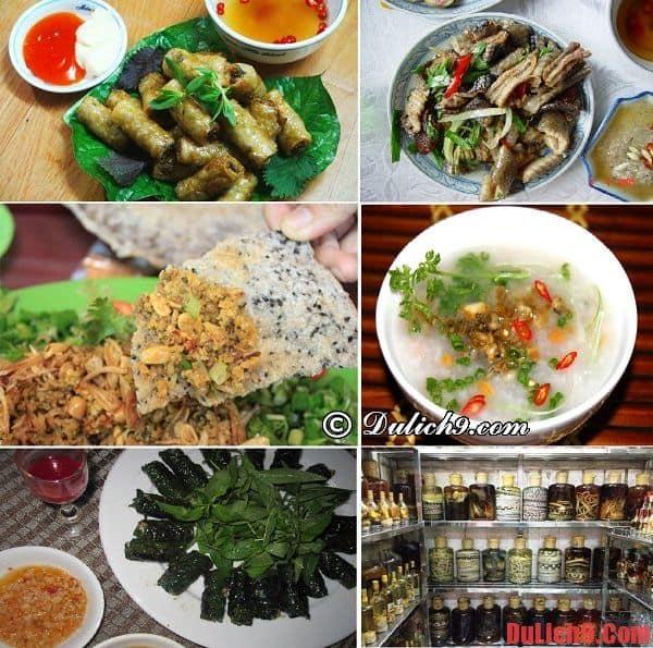 Các món chế biến từ đẻn biển - Món ngon đặc sản Quảng Bình không thể bỏ qua. Du lịch Quảng Bình nên ăn món gì?