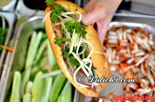 Bánh mì kẹp - Du lịch Lý Sơn thưởng thức những món quà sáng ngon, rẻ, nổi tiếng đảo Lý Sơn