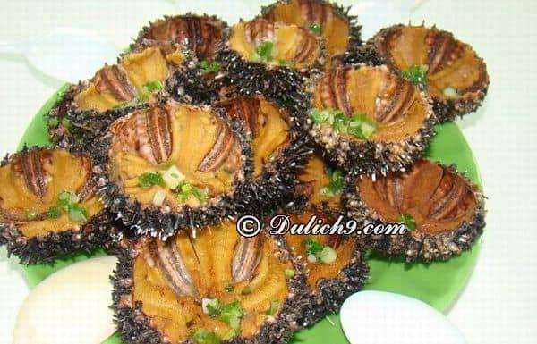 Kinh nghiệm ăn ngon khi du lịch bụi Sa Huỳnh. Món ăn đặc sản nổi tiếng ở biển Sa Huỳnh. Du lịch biển Sa Huỳnh nên ăn gì?