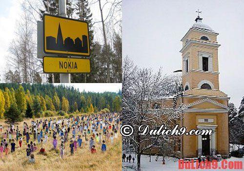 Những địa điểm thăm quan độc đáo khi du lịch Phần Lan
