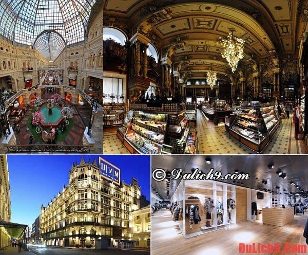 Những địa chỉ mua sắm sầm uất, giá rẻ và nổi tiếng nên ghé qua ở Moscow