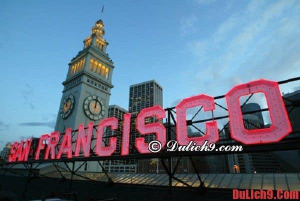 Bí quyết du lịch San Francisco tiết kiệm tiền