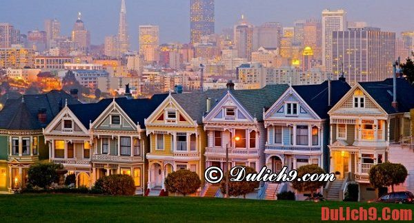 Hướng dẫn du lịch San Francisco tự túc