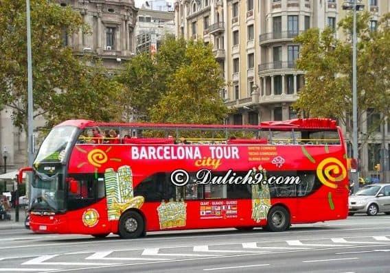 Phương tiện khi di chuyển ở Barcelona/ Đi lại thế nào khi du lịch Barcelona
