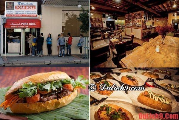 Những quán bánh mì ngon nhất và nổi tiếng nhất ở Sydney