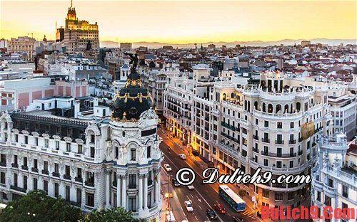 Tổng hợp các địa điểm đẹp Tây Ban Nha