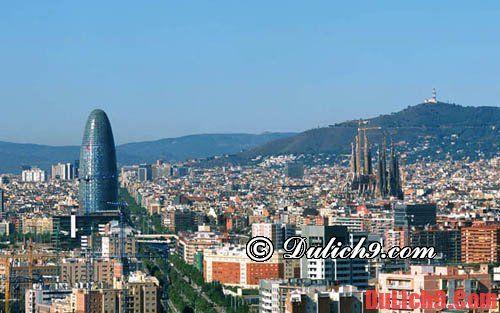 Danh sách các địa điểm đẹp Tây Ban Nha