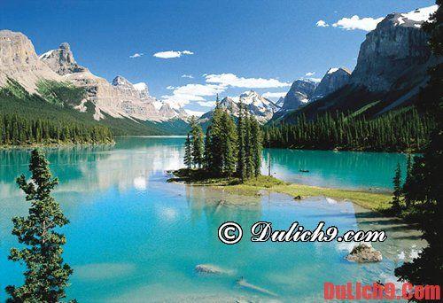 Những điểm du lịch Canada nổi tiếng thế giới