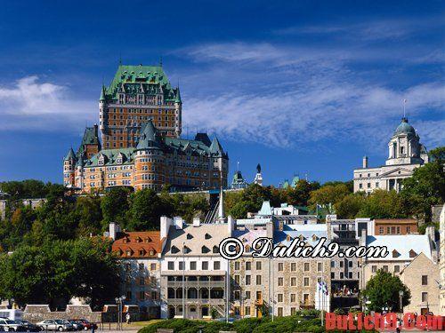 Những địa điểm lịch sử Canada