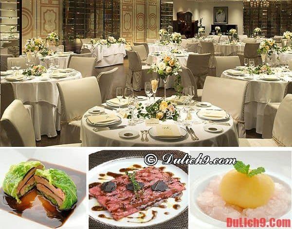 Hiramatsu Hakata - Nhà hàng chuyên món Pháp nổi tiếng và nên đến nhất khi du lịch Fukuoka, Nhật Bản