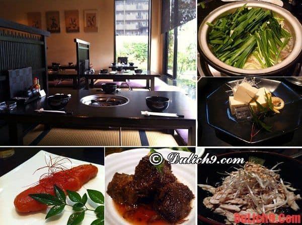 Yamanaka Honten Restaurant - Nhà hàng sushi độc đáo nên đến nhất ở Fukuoka, Nhật Bản